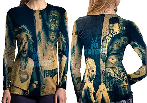 Die-Antwoord-Art-2-Fans-Print-Sublimation-Women-Top-shirt-Size-S-to-3XL