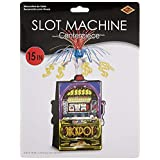 Beistle 50037 Slot Machine Centerpiece, 15-Inch