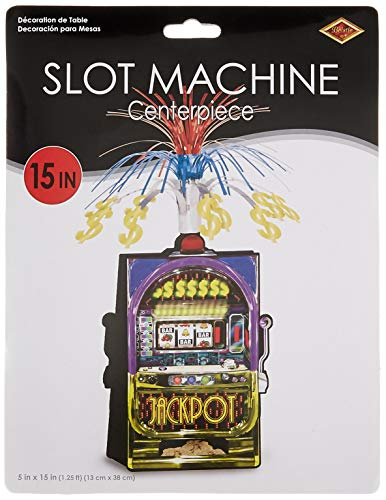 Slot Machine Centerpiece Party Accessory (1 count) (1/Pkg)]()