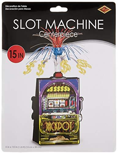 Slot Machine Centerpiece Party Accessory (1 count)