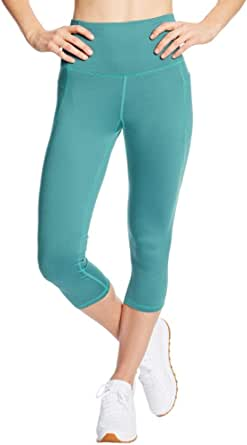 C9 Champion Women's High Waist Capri Legging, Aqua Tonic, XS