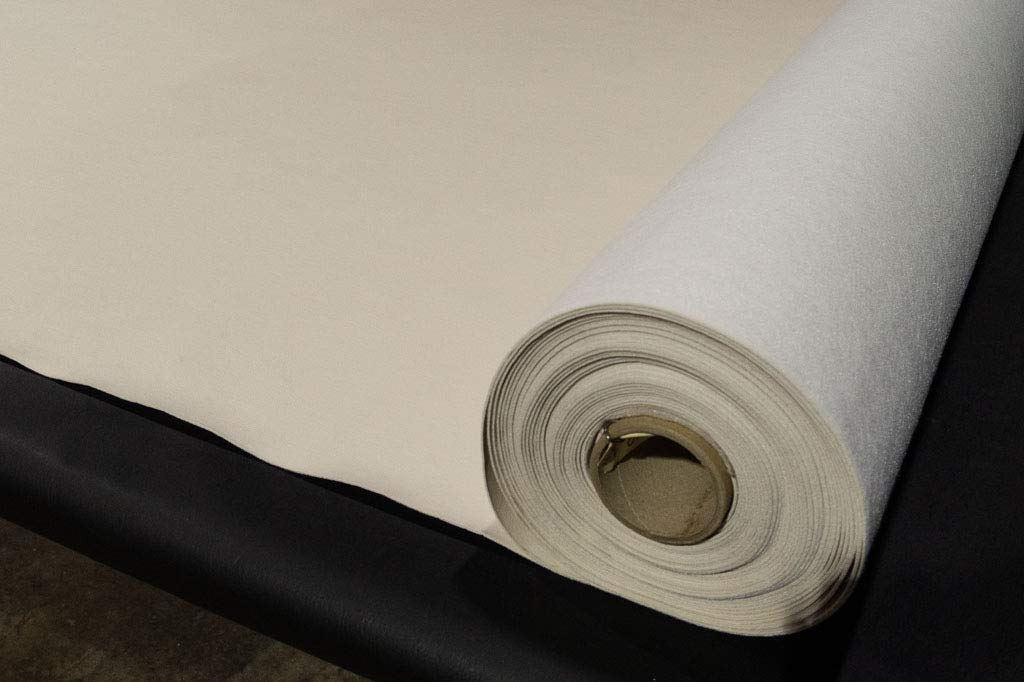 Bry-Tech SMV Marine Outdoor Indoor Vinyl Fabric Summer Sand Off White 54'' Wide by 40 Yards