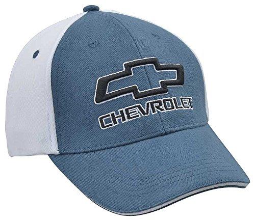 Corvette Central Chevy Bowtie Blue Mesh Hat ()
