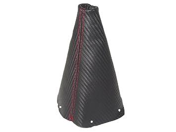 F/ür Mini Cooper s-one R50/R53/01 06/Gear /& Handbremsmanschette Carbon Leder Stickerei S