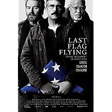 """LAST FLAG FLYING - 13""""x20"""" Original Promo Movie Poster 2017 Steve Carell Richard Linklater"""