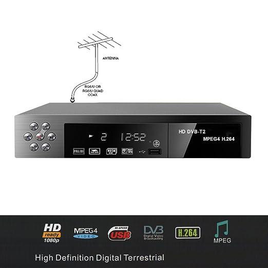 18 opinioni per DECODER DIGITALE TERRESTRE AUDIO MPEG4 DVB-T2 RISOLUZIONE HD RICEVITORE HDMI USB