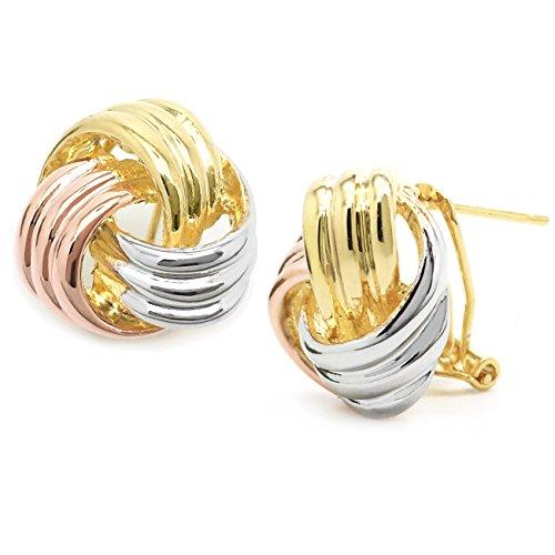 Design Omega Back Earrings - 8