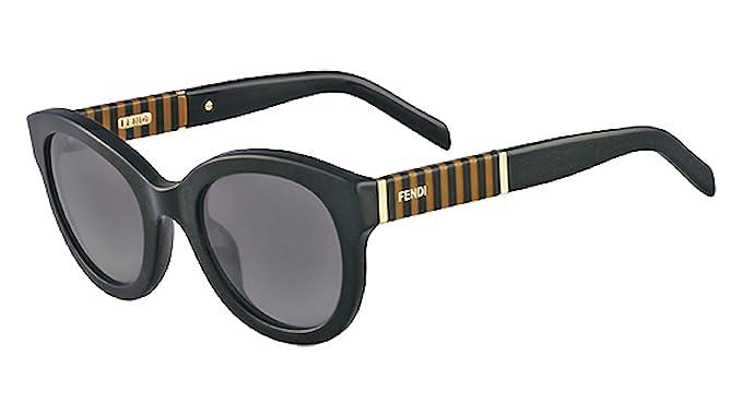 Amazon.com: Fendi anteojos de sol & Free Caso FS 5350 001 ...