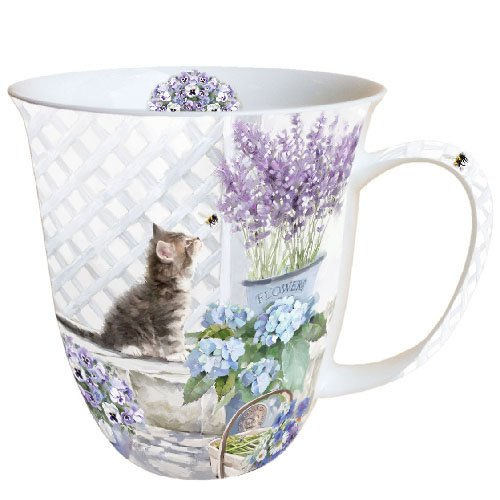 Ambiente mug / tasse ˆ cafŽ / thŽ Kitten - Chat - Chaton env. 0.4L