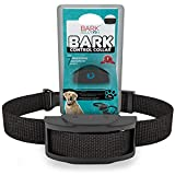 Bark Solution ® Rechargeable and Rainproof 330 yd Remote Dog Training E-collar with Beep/Vibration/Shock Electric Collar