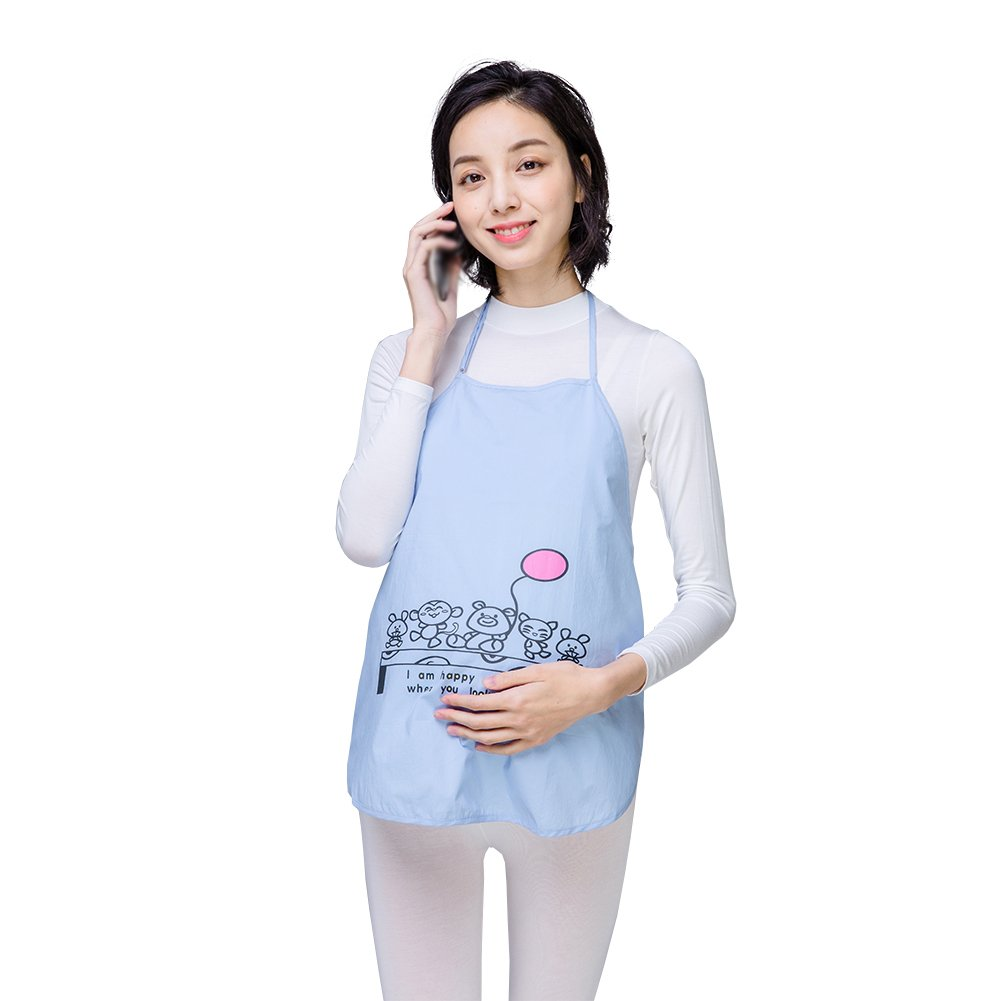 JUNZENIA Anti-Radiation Maternity Women Apron Top Baby Mom Protection Shield Dresses USDuDou01-A251
