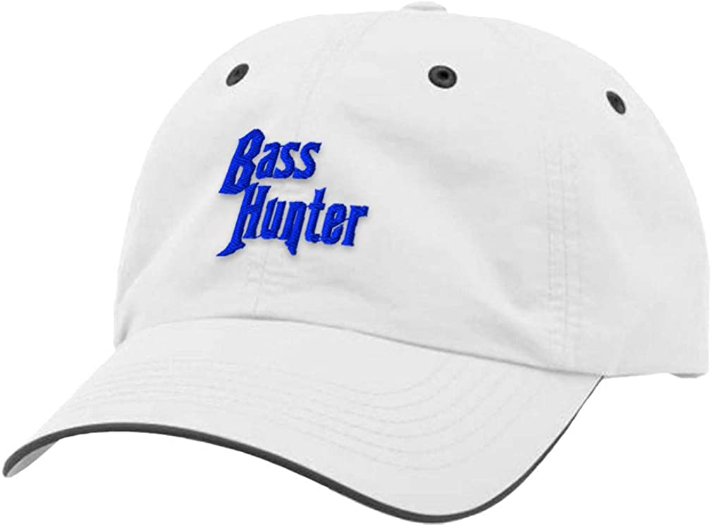 Custom Richardson Running Cap Bass Hunter Embroidery Polyester Hat Hook & Loop
