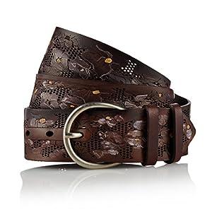 GUT INSTINKT - Cinturón Artesanal de Cuero Italiano de Lujo Artesanal - MAOHIS | DeHippies.com