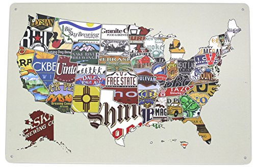 State Beer - The Sign American Craft Beer Week tin sign 8*12inch
