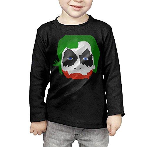 [CAYCGH Child Kids Joker Unisex Long Seelve Baseball Jersey T-Shirt Tee 5-6 Toddler] (Storm X Men Costume Comic)