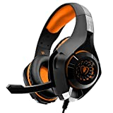 2017 New Updated Gaming Headphones,A9 3.5mm Stereo Sound Wired Professional Computer Gaming Headset with Microphone