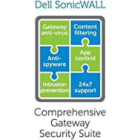 SonicWALL 01-SSC-0015 1YR DELL SONICWALL COMP GATEWAY SEC STE without VIEWPT F/ NSA 2400