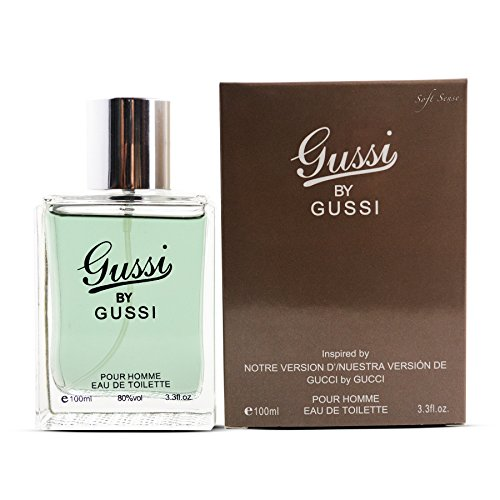 Soft Sense Gussi By Gussi Perfume Cologne For men Eau De Toilette 3.3 fl.oz/100 ml Inspired by Gucci By Gucci For Men (Parfum For Man Gucci)