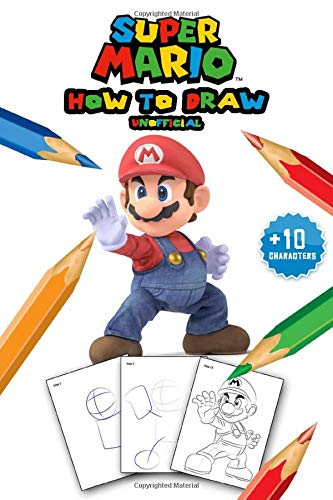 Super Mario How To Draw Guide Learn To Draw Super Mario With 14
