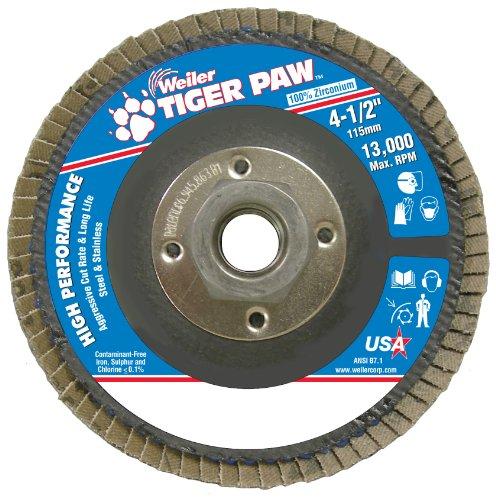 Weiler 51112 Tiger Paw High Performance Abrasive