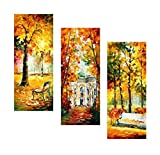 WIND OF DREAMS (SET OF 3 PAINTINGS - EACH 16 x 40) by Leonid Afremov. Medium: 100% hand painted oil painiting on Canvas by Leonid Afremov - One of Kind Original Paintings. Condition: New. Signed by Leonid Afremov included a Certificate of Authenticit...
