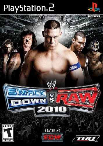 WWE SmackDown vs. Raw 2010 - PlayStation - Wwe Ps2