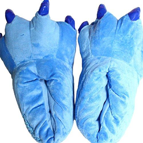 LATH.PIN Zapatillas de casa animales Halloween Cosplay Blue