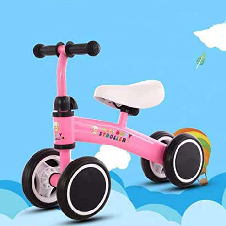 Blue Eezee Rider Baby Balance Bike for 10 months to 2 Year Old Boys Girls Kids and Toddlers First Bike Birthday Gift