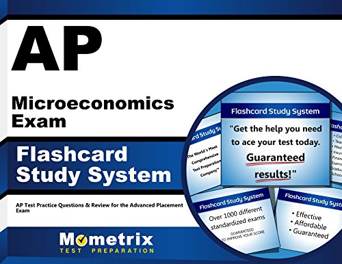AP Microeconomics Exam Flashcard Study System: AP Test Practice Questions & Review for the Advanced Placement Exam (Cards)