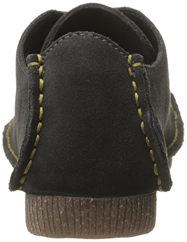 Grey Oxford Suede Mae Dark Women's CLARKS Janey vqXtz