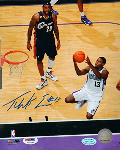 Signed Tyreke Evans Photo - 8x10 Rookie Graph COA Autograph - PSA/DNA Certified - Autographed NBA Photos (Evans Photo Tyreke)