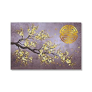 Tableau Fleurs De Cerisier Japonais Ou Toile Deco Ambiance Zen