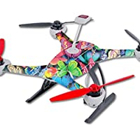Skin For Blade 350 QX3 Drone – Butterfly Party | MightySkins Protective, Durable, and Unique Vinyl Decal wrap cover | Easy To Apply, Remove, and Change Styles | Made in the USA