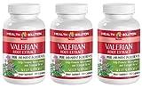 Sleep supplements natural - VALERIAN ROOT EXTRACT - Valerian root - 3 Bottle 300 Capsules
