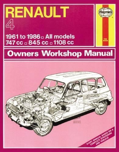 「Renault 4」(J H Haynes & Co Ltd)