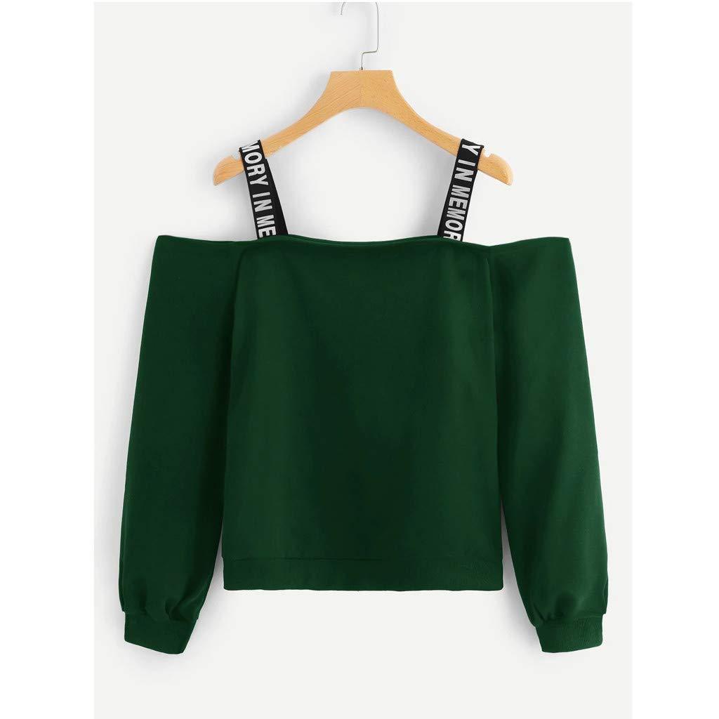 Damen Off Shoulder Blusen Spitzen Camen Tanktop Bluse Tops Shirt Freizeit Mode F
