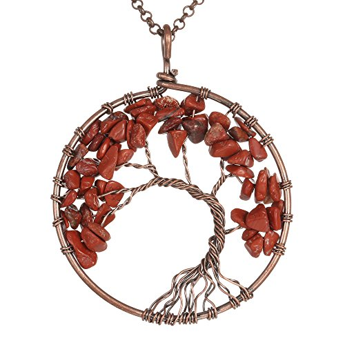 Gemstone Necklace Pendant BRCbeads Crystal product image