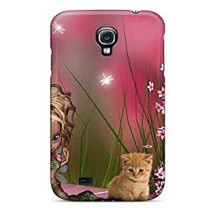 High-quality Durable Protection Case For Galaxy S4(magical Spring Fairy Kittens)