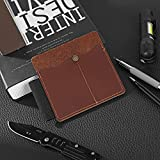 IKEPOD EDC Full Grain Leather Sheath, Work Pouch