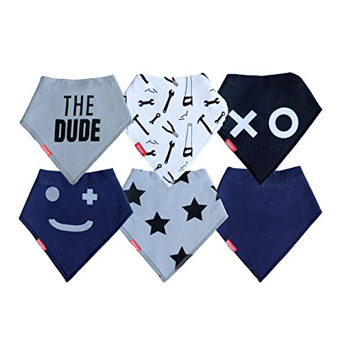 """Baby Bandana Drool Bibs 