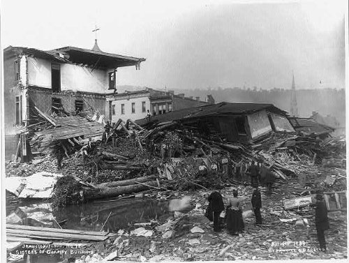 - Photo: Great Flood,Johnstown,PA,South Fork Dam,Cambria Co,1889 4