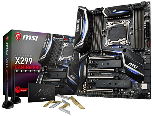 MSI Performance Gaming Intel X299 LGA 2066 DDR4 USB for sale  Delivered anywhere in USA