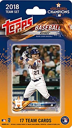 2018 Topps Baseball Factory Houston Astros Team Set Of 17 Cards Which Includes Jose Altuveha 1 Jake Marisnickha 2 Josh Reddickha 3 Carlos