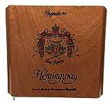 Arturo Fuente Premium Wood Cigar Box Empty Case for Crafts Guitars (Hemingway Signature)