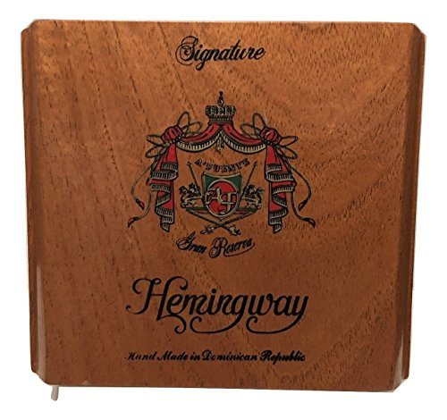 Arturo Fuente Premium Wood Cigar Box Empty Case for Crafts Guitars (Hemingway Signature) by A Fuente