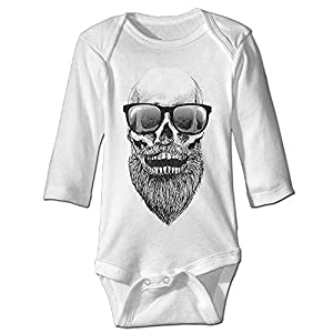 Beard Sunglasses Long Sleeves Newborn Baby Special Baby Climbing Clothes Size Key