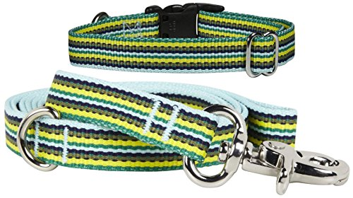 Waggo Line Up Collar - Ocean - Large - 19-26 x 1 inches