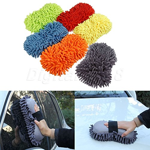 Pictures Of Kittens In Costumes (Car Window Washing Brush Sponge Pad Home Cleaning Duster Microfiber Chenille 1pc)