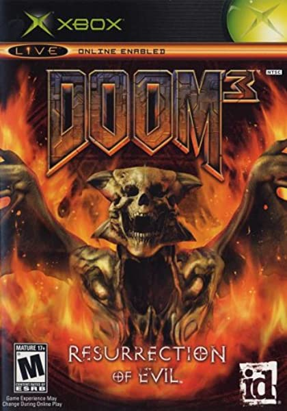 Doom 3 Resurrection Of Evil Xbox Artist Not Provided Video Games