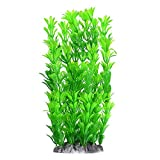Fish Tank Artificial Plants Aquarium Decoration 10 Inch, Green